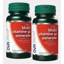 Pachet Multivitamine minerale 60+30cps - DVR PHARM