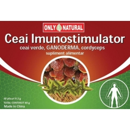 Ceai imunostimulator 30dz - ONLY NATURAL