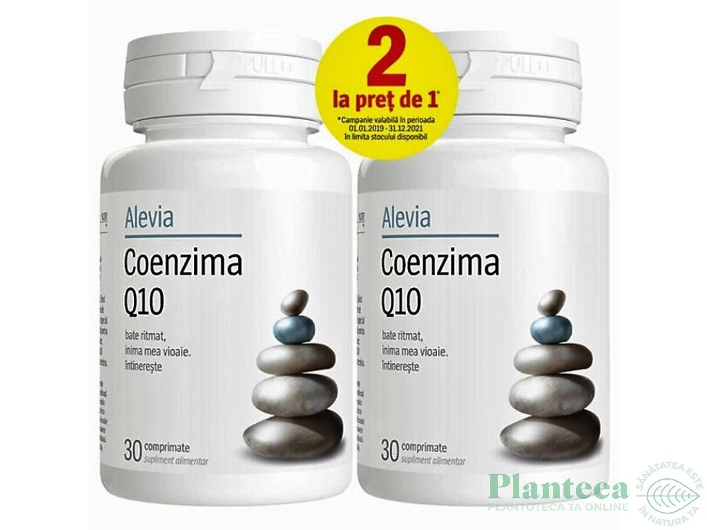 Pachet Coenzima Q10 120mg {1+1} 30cp - ALEVIA