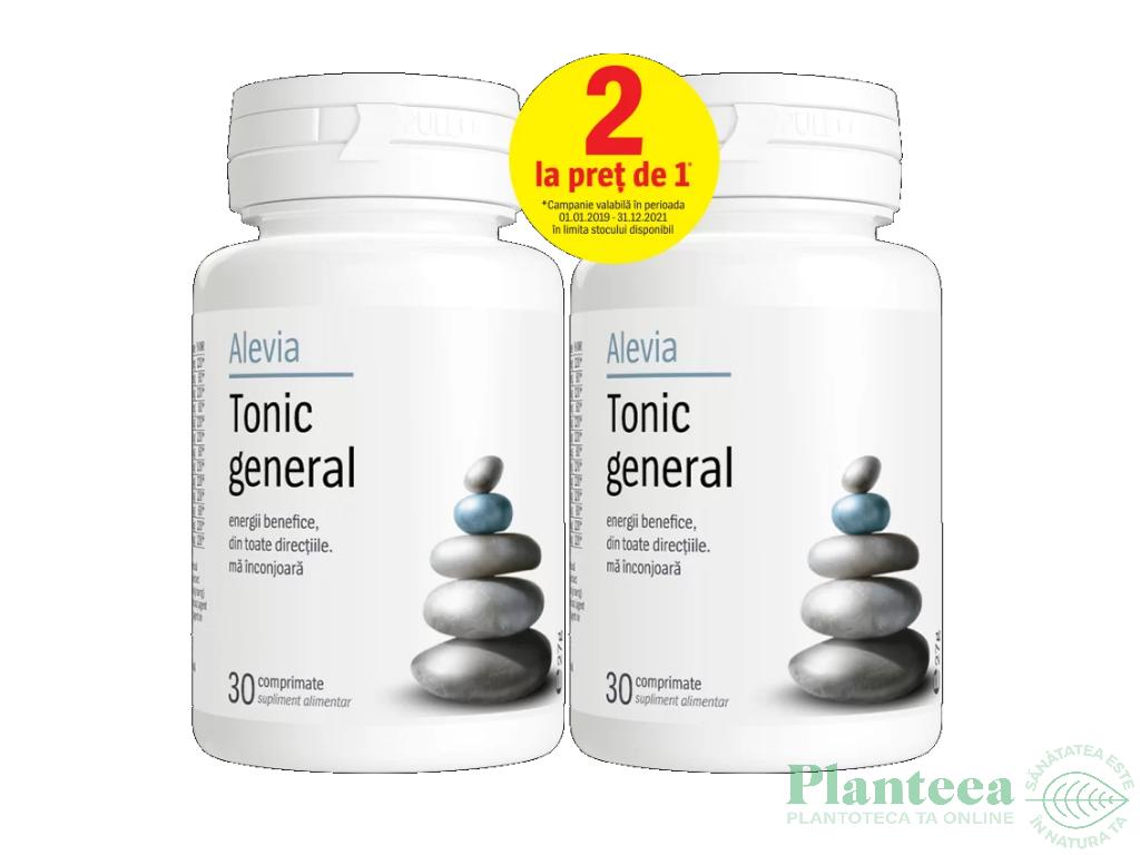 Pachet Tonic General {1+1} 30cp - ALEVIA