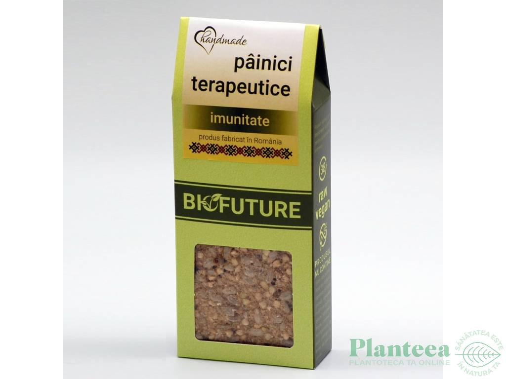 Painici crocante terapeutice imunitate 100g - BIOFUTURE