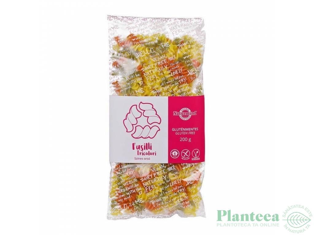 Paste fusilli tricolore fara gluten 200g - NATURMIND