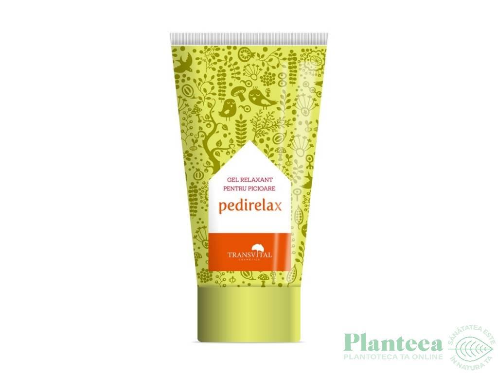 Gel picioare relaxant Pedirelax 150ml - TRANSVITAL