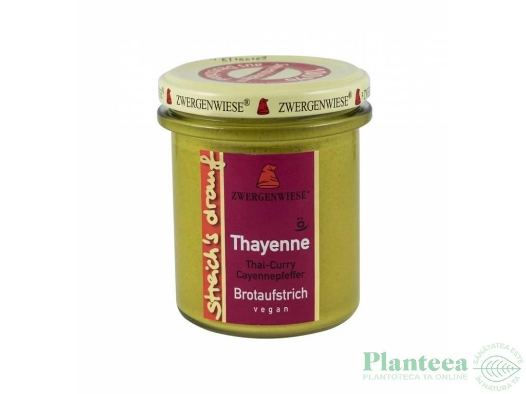 Crema tartinabila thai curry piper cayenne Thayenne 160g - ZWERGENWIESE