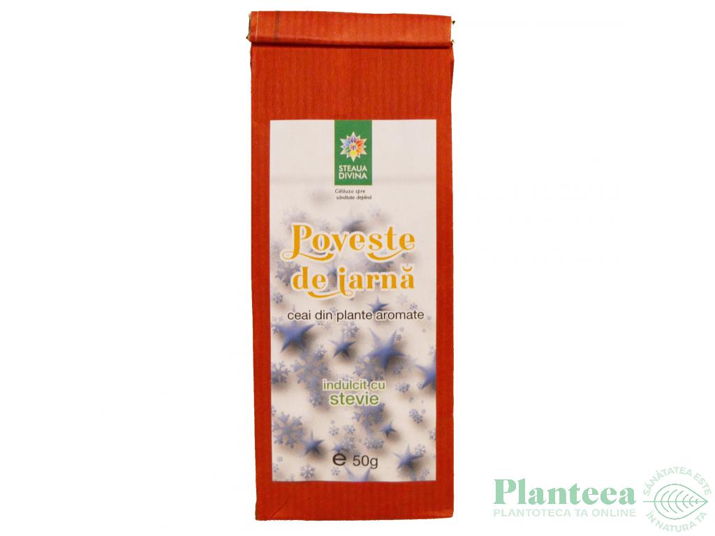 Ceai Plante Poveste de Iarna 50g - SANTO RAPHAEL