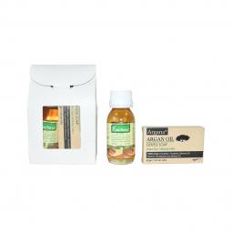 Set Cadou [ulei fraicheur 60ml+sapun argana 40g] 2b - AZBANE