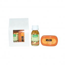 Set Cadou [ulei fraicheur 60ml+sapun arganine 40g] 2b - AZBANE