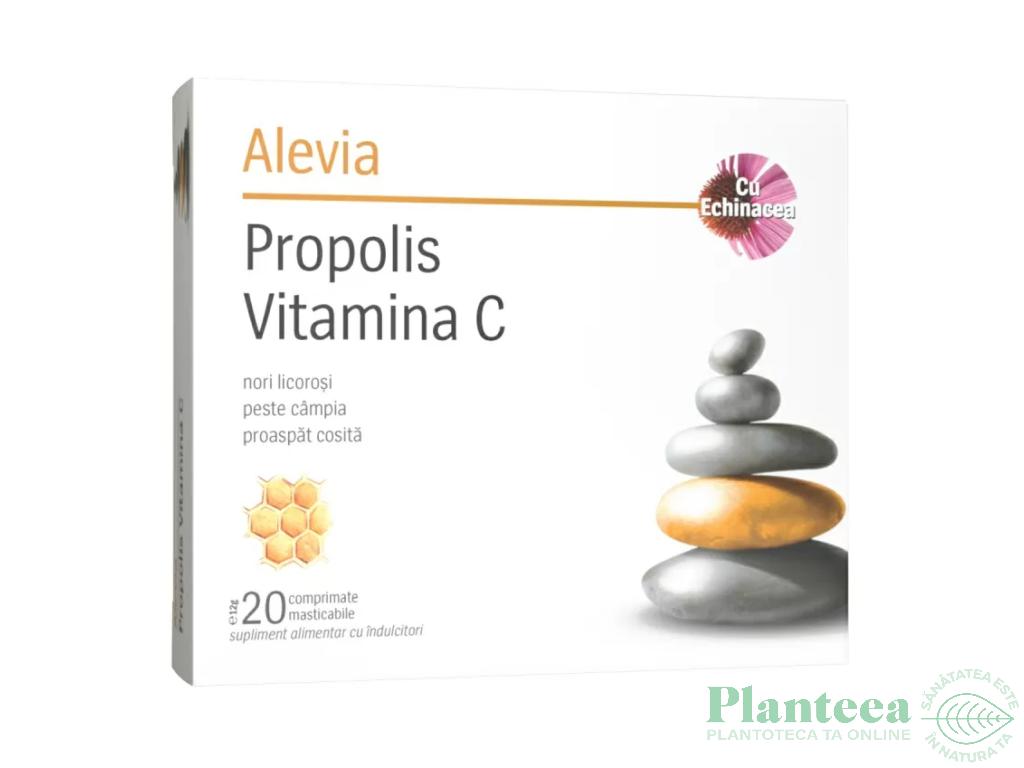 Propolis C echinaceea 20cp - ALEVIA