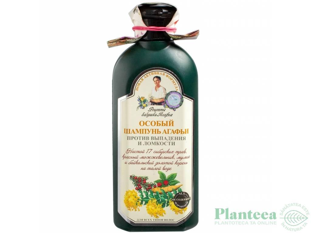 Sampon imp caderii apa gheata 17plante siberiene 350ml - RETETELE BUNICII AGAFIA