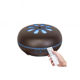 Difuzor ultrasonic aromaterapie silentios maro inchis 550ml - YCTA