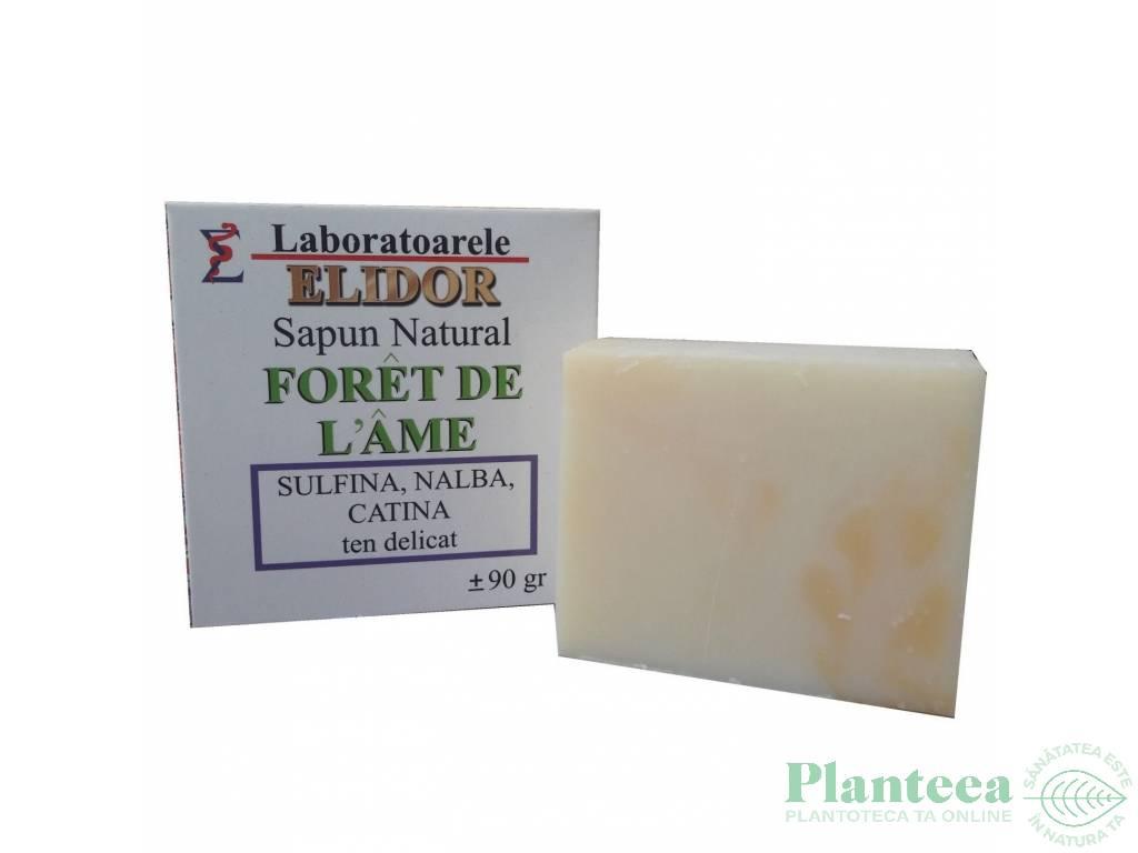 Sapun ten delicat sulfina nalba catina Foret de L`ame 90g - ELIDOR