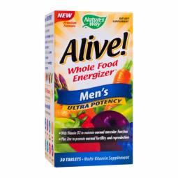 Alive multivitamine men`s ultra 30cp - NATURES WAY