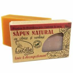 Sapun natural citrice verbina Lucille 90g - BLISS HERBAL