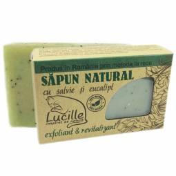 Sapun natural salvie eucalipt Lucille 90g - BLISS HERBAL
