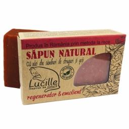 Sapun natural ulei samburi struguri goji Lucille 90g - BLISS HERBAL