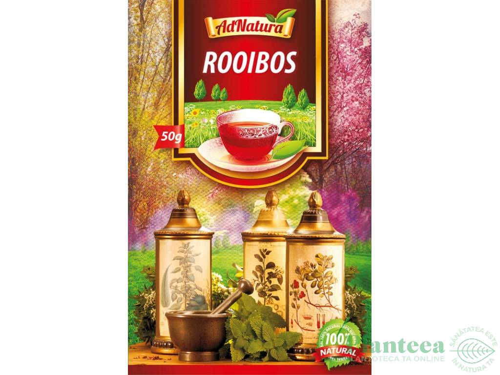 Ceaiul Rooibos, beneficii pentru sanatate