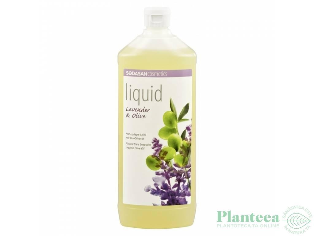Sapun lichid lavanda masline 1L - SODASAN