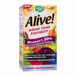 Alive multivitamine women`s 50+ ultra 30cp - NATURES WAY