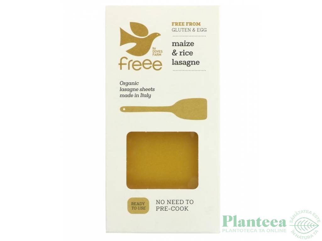 Paste lasagna porumb orez fara gluten 250g - DOVES FARM