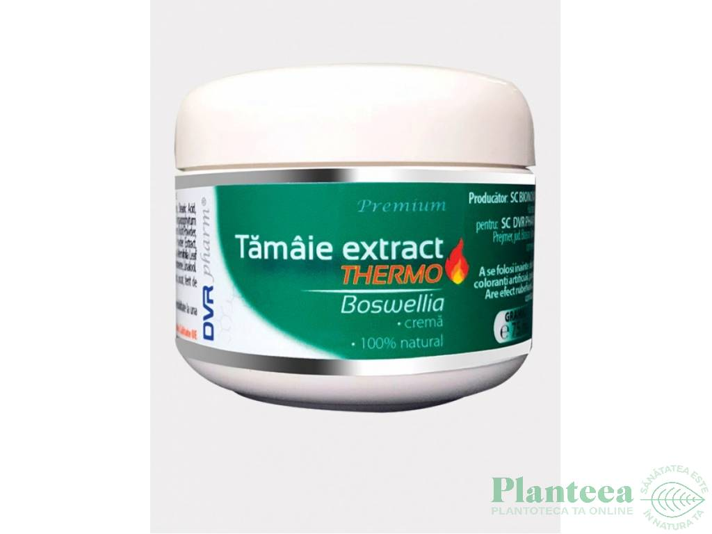 Crema tamaie extract [boswellia] thermo 75ml - DVR PHARM