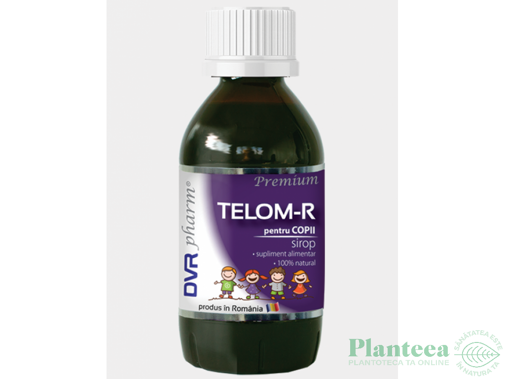 Sirop Telom R copii 150ml - DVR PHARM