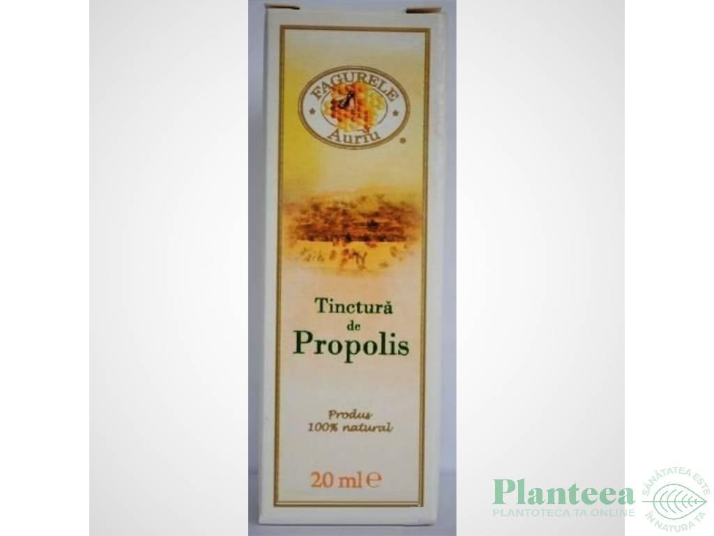 Tinctura propolis 30% 20ml - FAGURELE AURIU