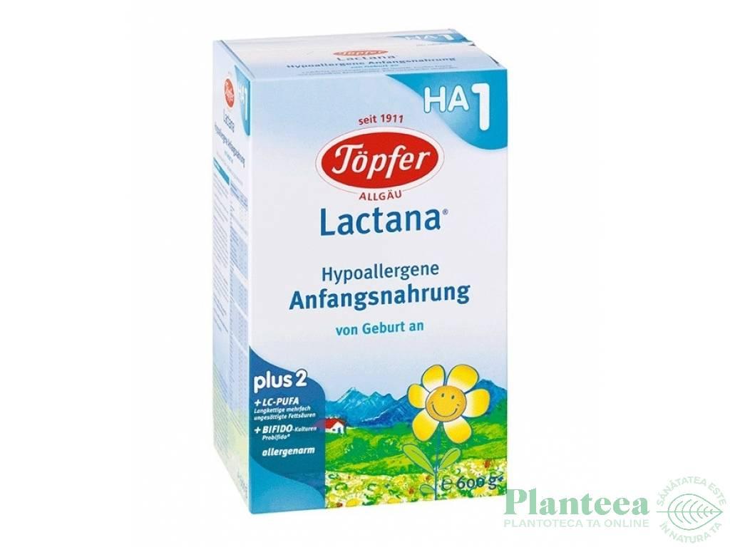 Lapte formula HA Lactana +0luni 600g - TOPFER