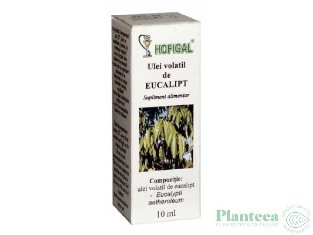 Ulei esential eucalipt 10ml - HOFIGAL