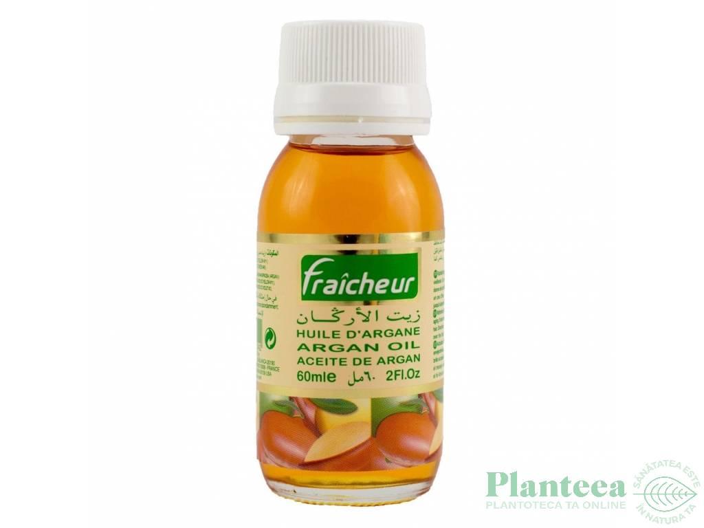 Ulei argan organic Fraicheur 60ml - AZBANE