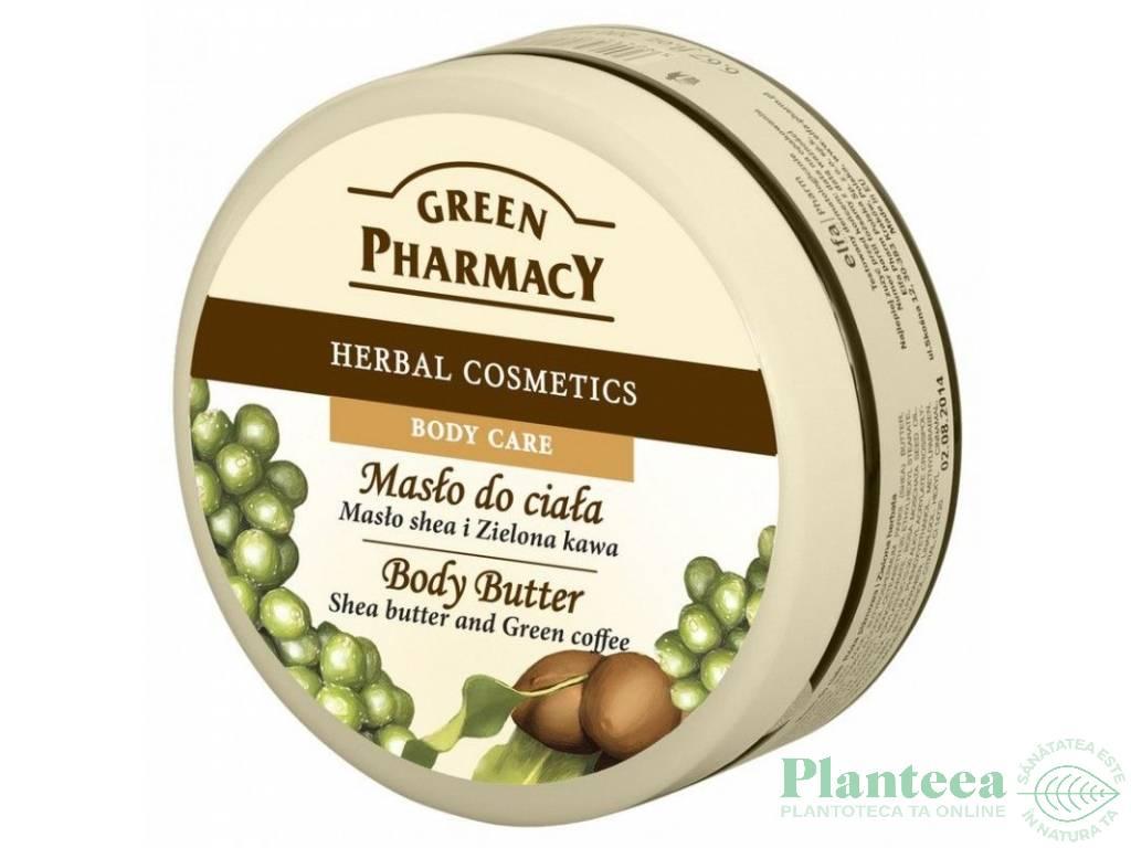 Unt corp unt shea cafea verde 200ml - GREEN PHARMACY