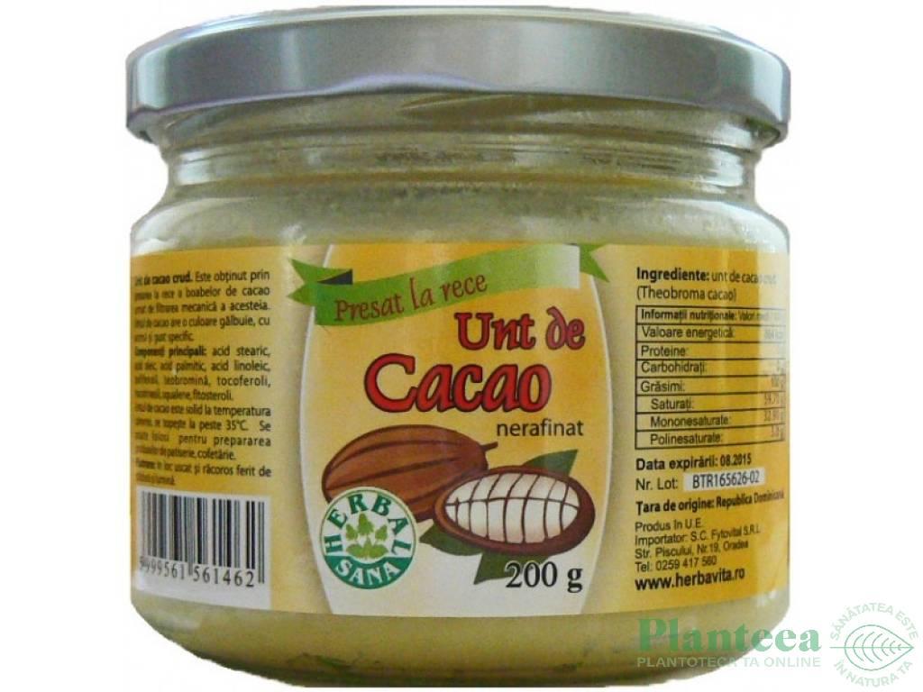 Cacao crud slăbire soso slăbire