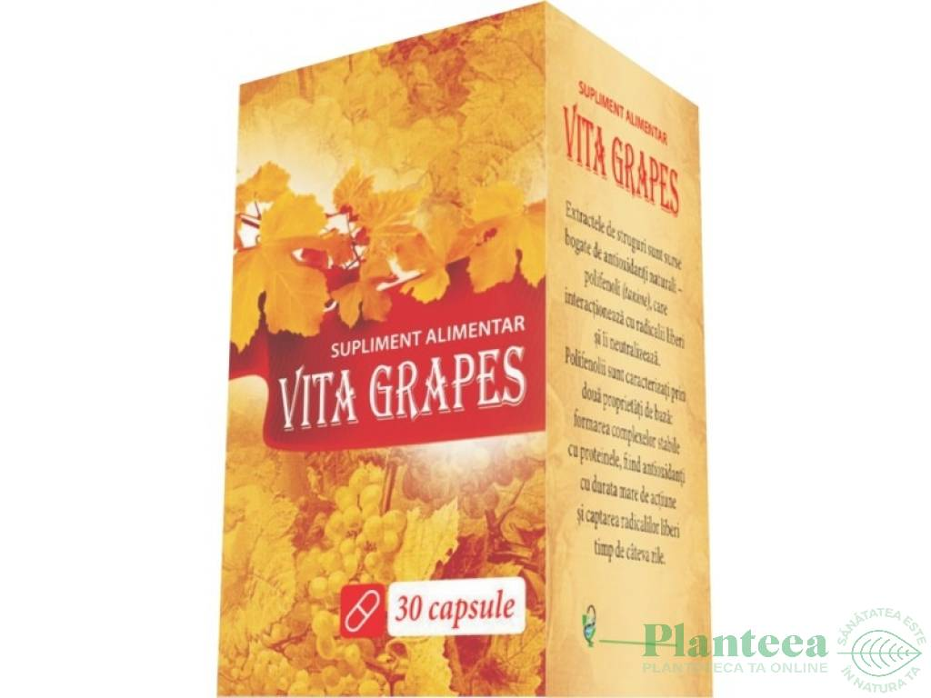 Vita grapes 30cps - EUROFARMACO