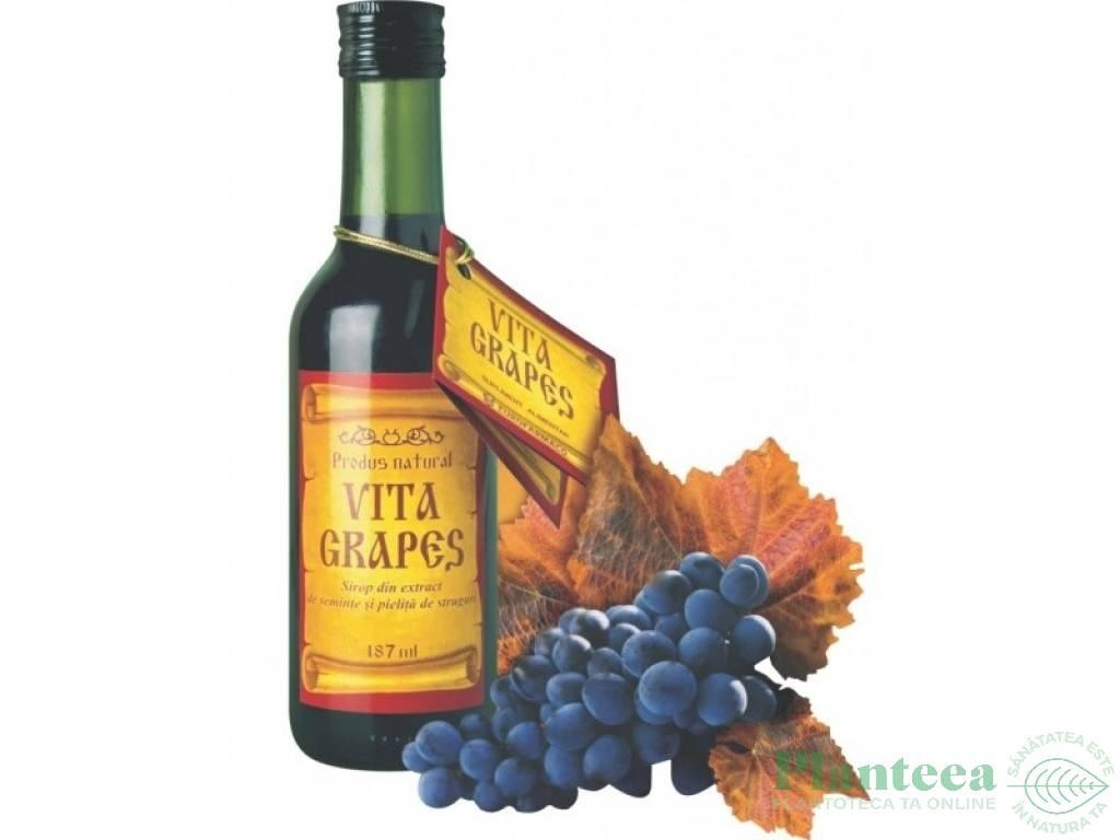 Sirop Vita Grapes 187ml - EUROFARMACO