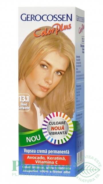 Vopsea Par Color Plus 131 Blond Sampanie 50ml Gerocossen Pret