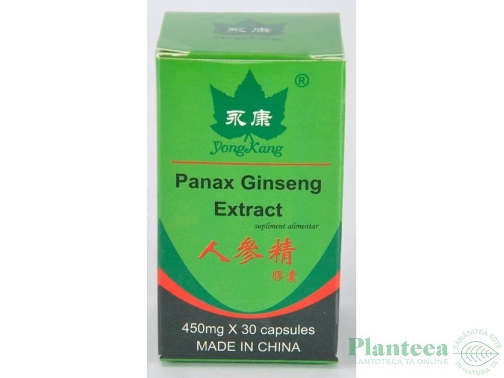 Panax ginseng 30cps - YONG KANG
