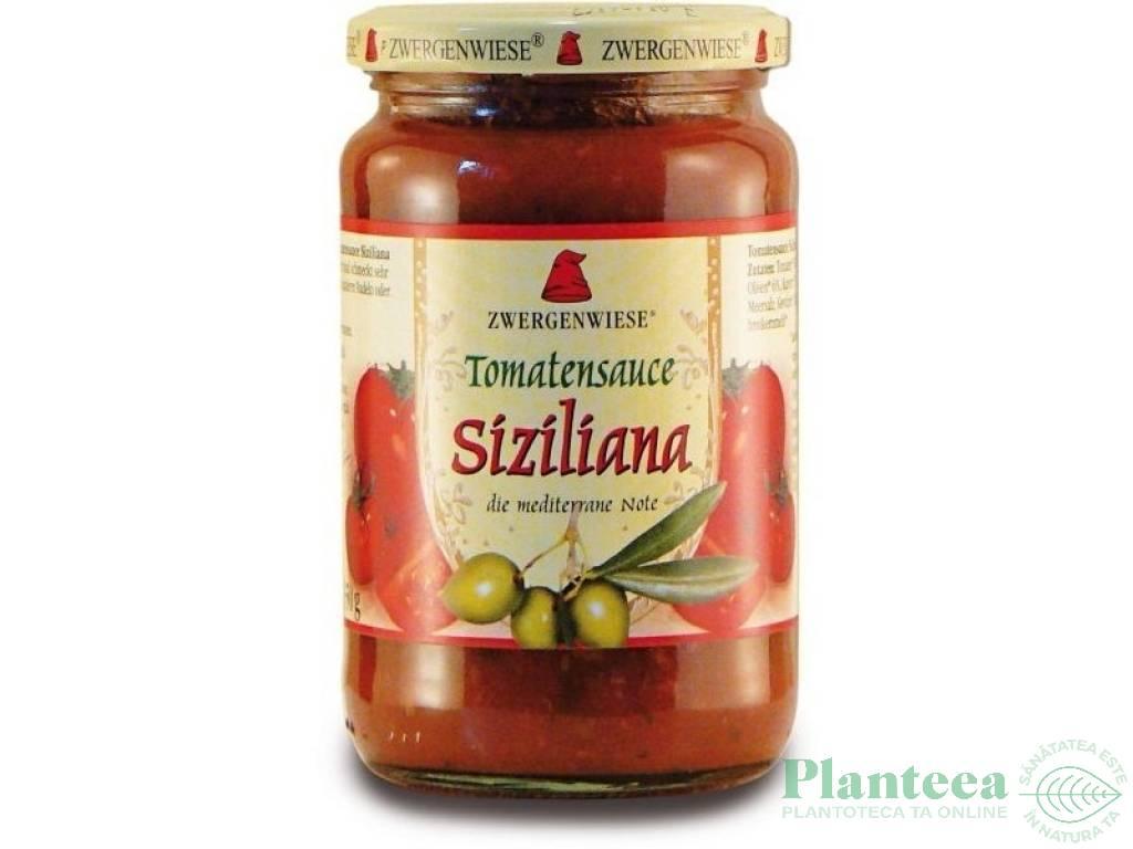 Sos tomat Siziliana 350g - ZWERGENWIESE