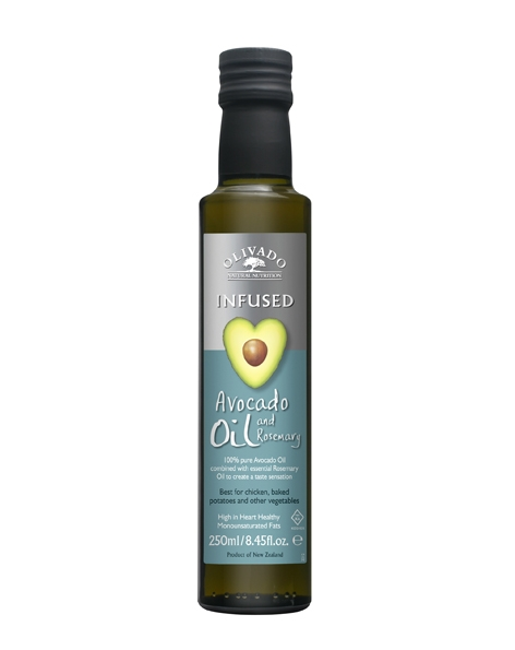 Ulei avocado rozmarin 250ml - OLIVADO
