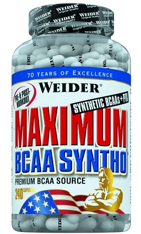 BCAA Syntho PTK Maximum 240cps - WEIDER