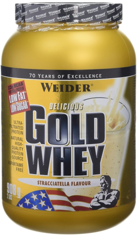Pulbere proteica zer concentrat Gold stracciatella 908g - WEIDER