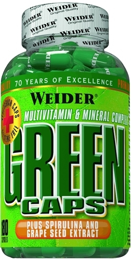 Green caps 180cps - WEIDER