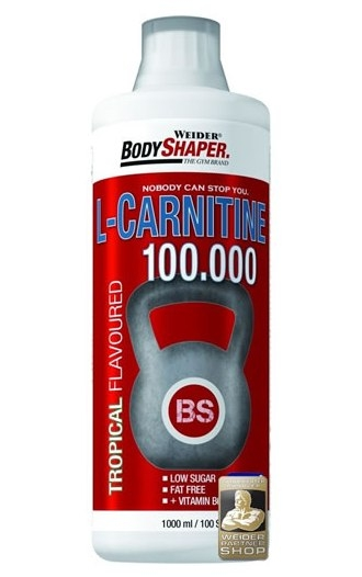 Lcarnitina lichida 100.000 tropical 1L - BODY SHAPER