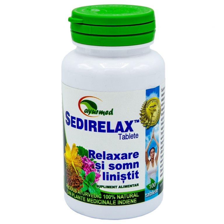 Sedirelax 100cp - AYURMED