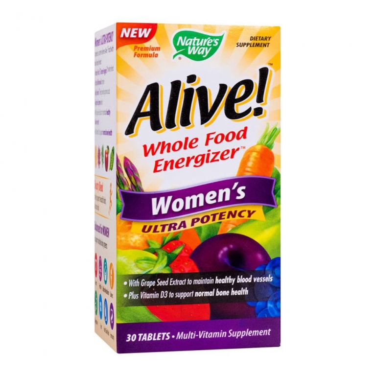 Alive multivitamine women`s ultra 30cp - NATURES WAY
