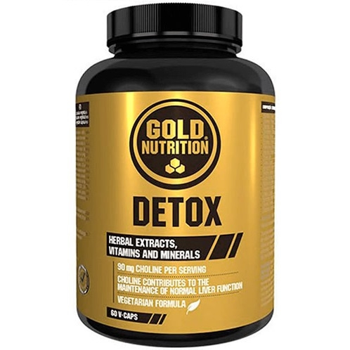 Detox 60cps - GOLD NUTRITION